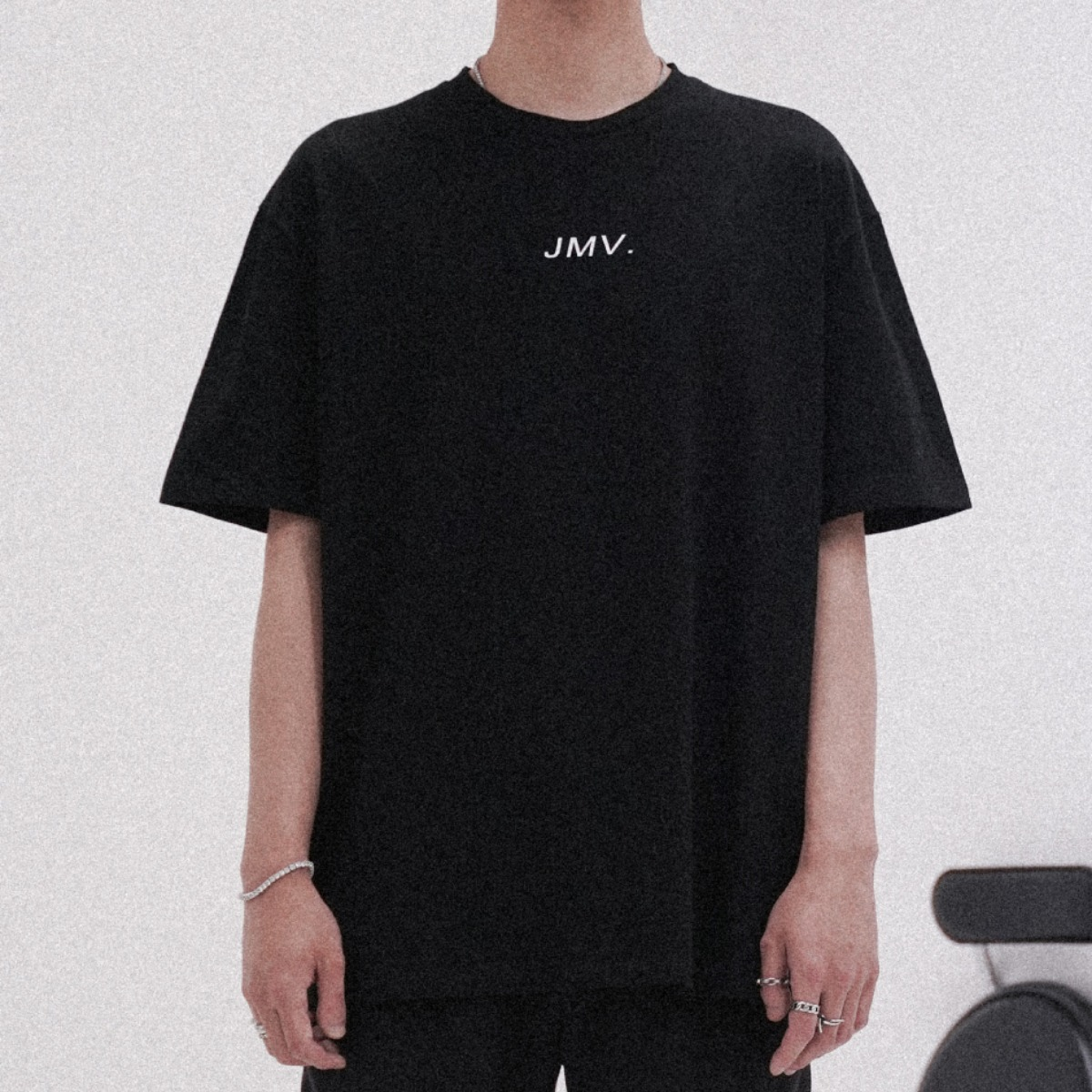 "POP UP SERIES "" JMV . "" SHIRT_ BLACK"