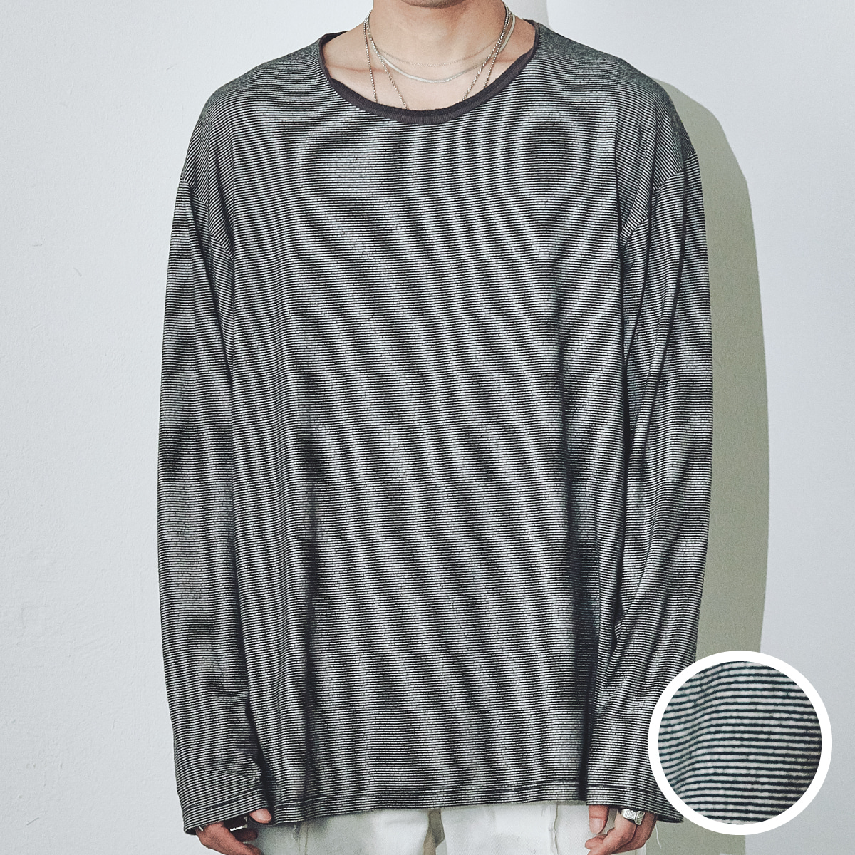 "FOURTH SEASON ""STRIPE T-SHIRT"""