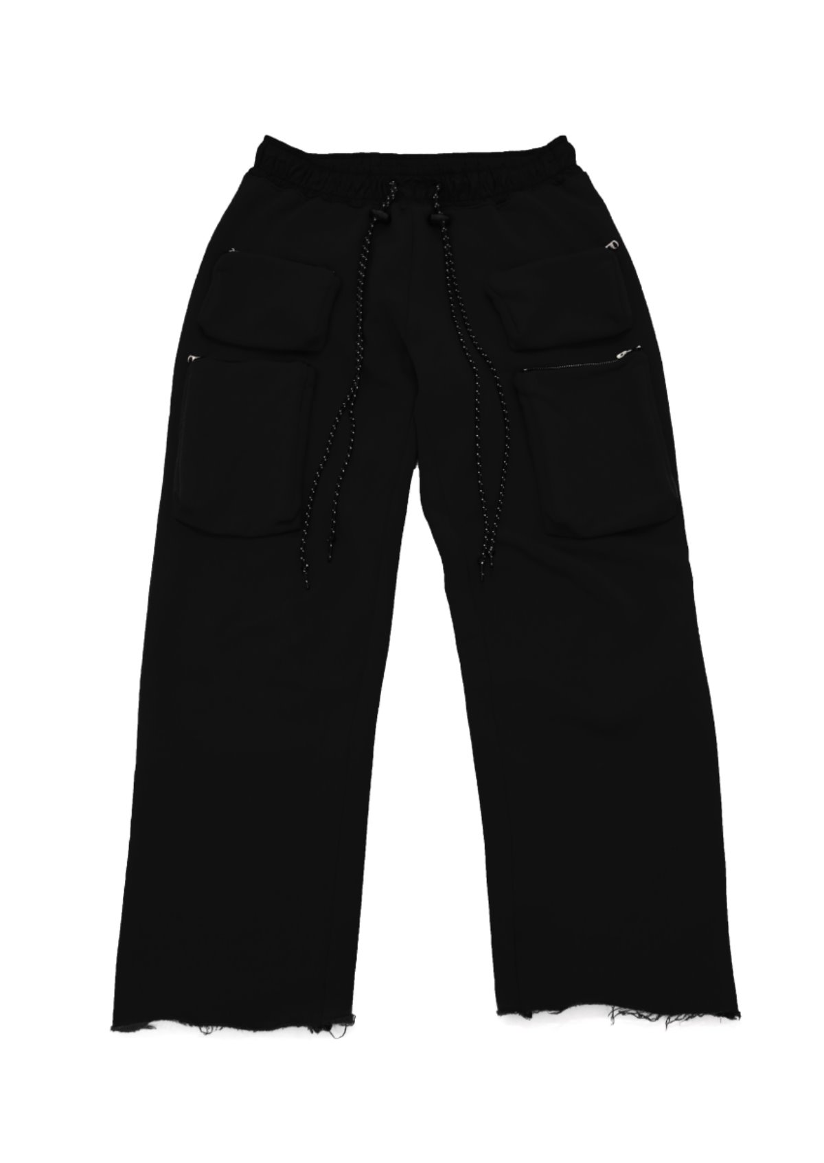 SIX POCKETS SWEATPANT(BLACK)