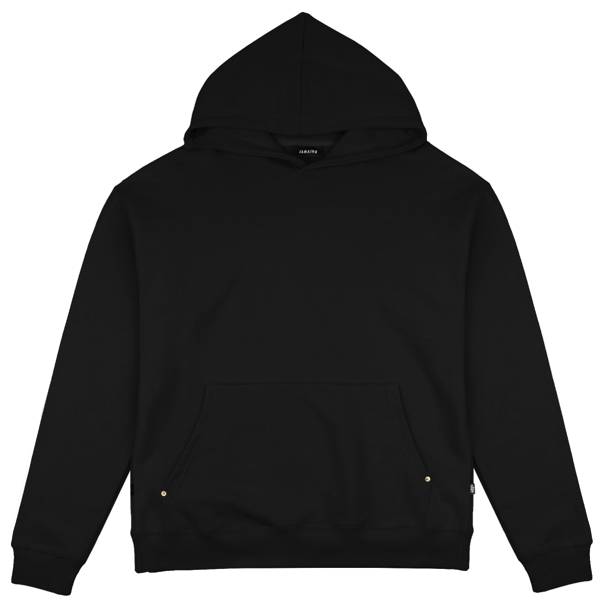 "FIFTH SEASON ""JAMAIVU EMBROIDERED HOODIE"" #BLACK"